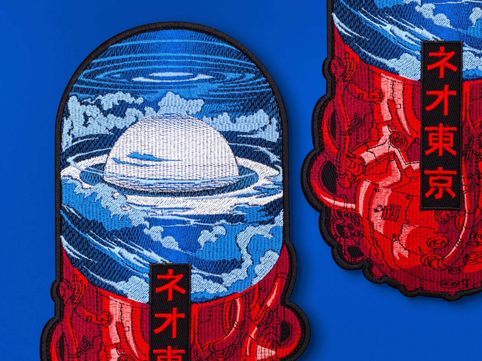 Neo Tokyo Is About To Explode Akira Pill Anime Embroidered Back Patch Graphicine