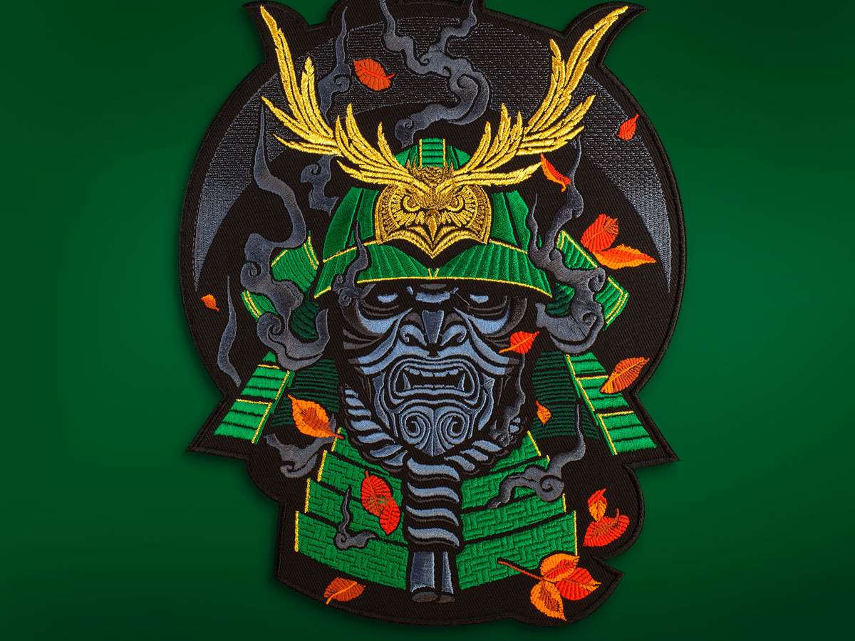 graphicine_samurai_patch_1_green