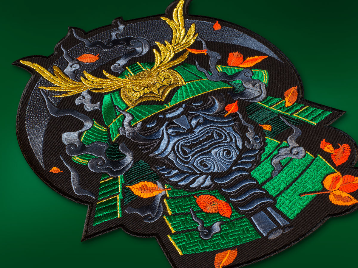 graphicine_samurai_patch_2_green